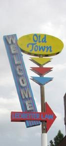 Welcome to Old Town Cottonwood (Sign)