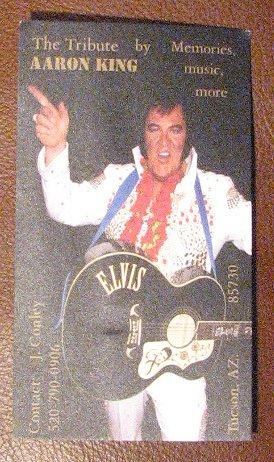 Elvis...The King...Aaron King shows up at the Cottonwood Hotel in Cottonwood Arizona May 2009