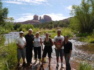 Red Rock Crossing Cathedral Rock healing vortex in Sedona