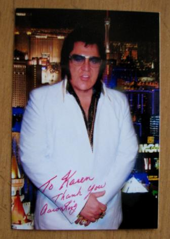 Aaron King keeps Elvis Presley Alive!