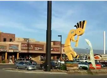 Camp Verde AZ worl's largest kokopelli