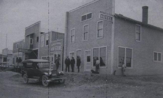 Cottonwood Hotel Arizona 1922