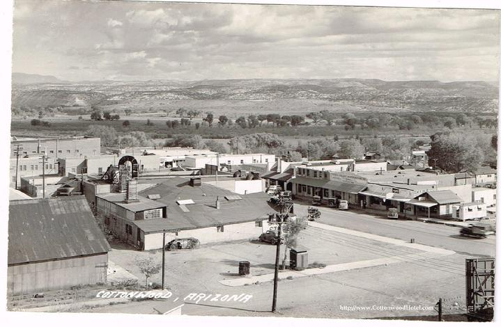 Cottonwood Arizona Ariz AZ -1940s