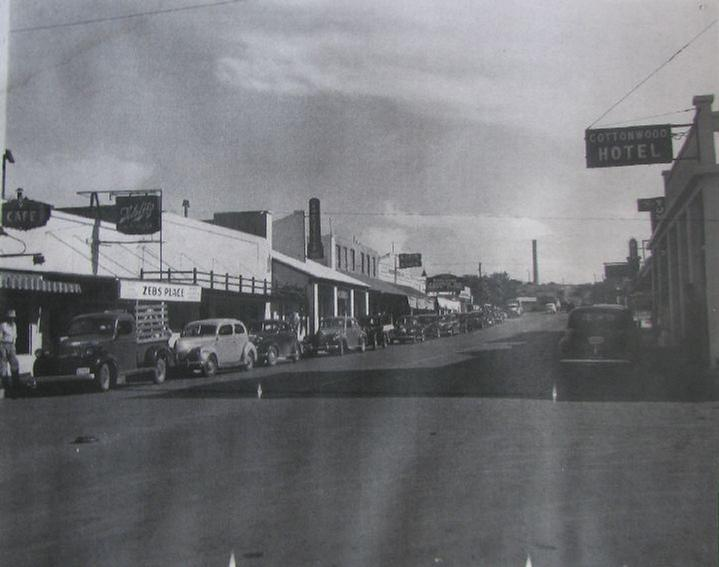 image cottonwood arizona history main street hotel