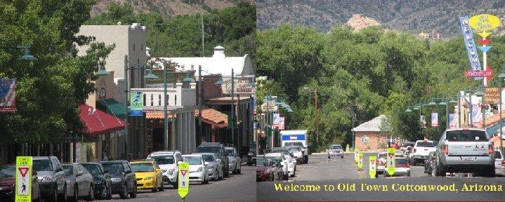Old Town Cottonwood Arizona